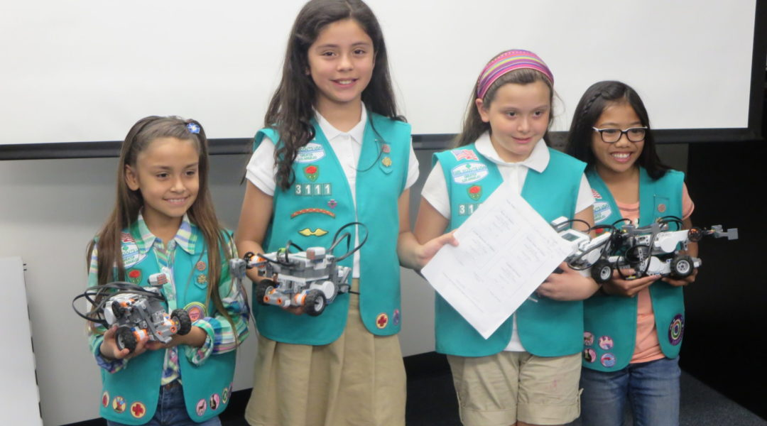 Girls Scouts - Columbia Memorial Space Center