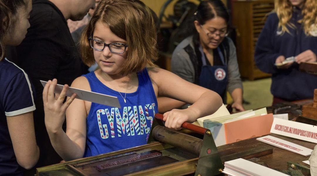 Museum - Prinitng Girl 1300 x 630 - International Printing Museum
