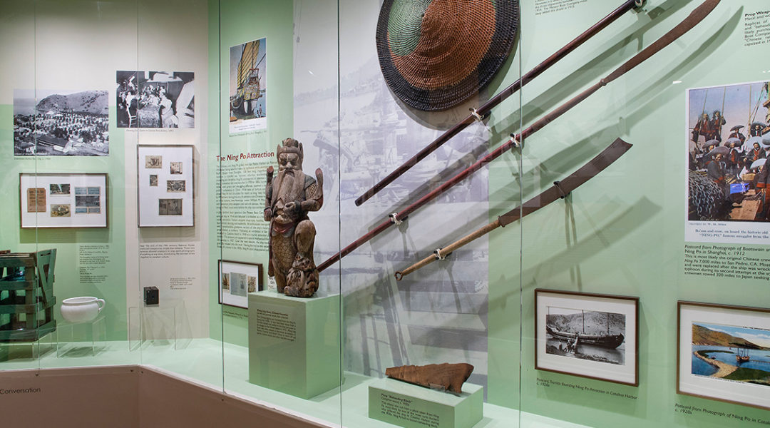 Catalina Island Museum-Catalina Island history galleries 2 - Gail Fornasiere