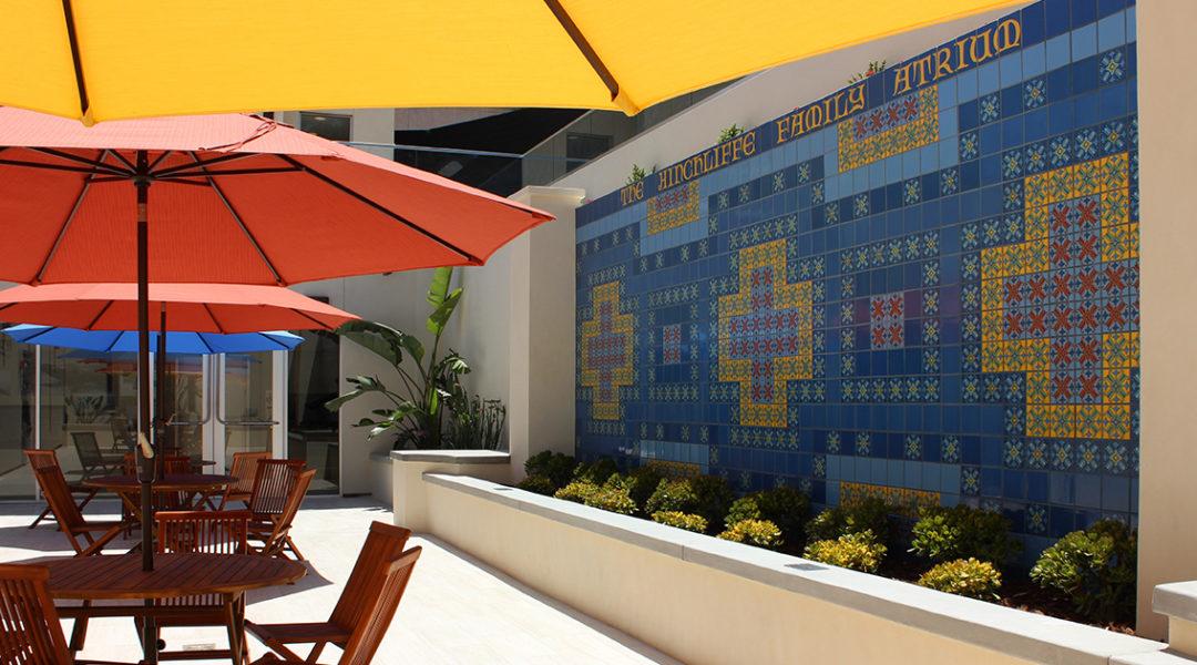 Catalina Island Museum-outdoor atrium - Gail Fornasiere