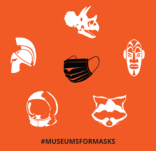 SoCal Museums and California Association of Museums Join Forces to Support California's Health Initiative with #MuseumsForMasks